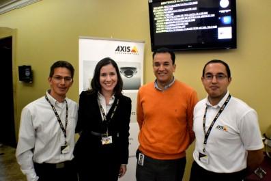 Axis Communications presentó su Capacitación de video IP en Bogotá