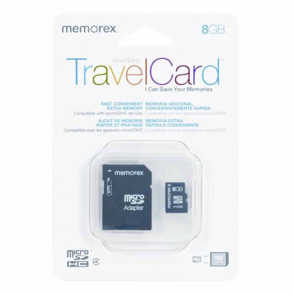 MicroSDHCTravelCard 8GB