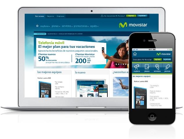 Nueva Web Movistar