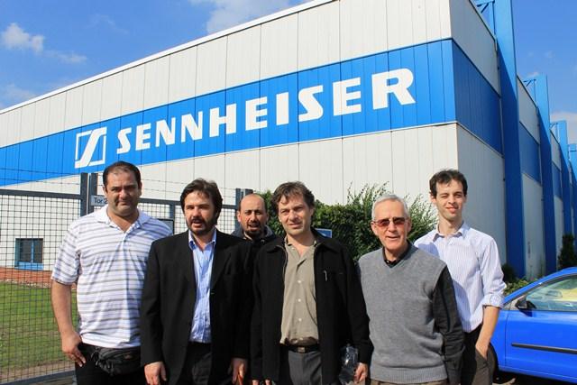 Visita a Sennheiser