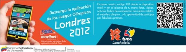 aplicacion movil olimpiadas cantv - movilnet