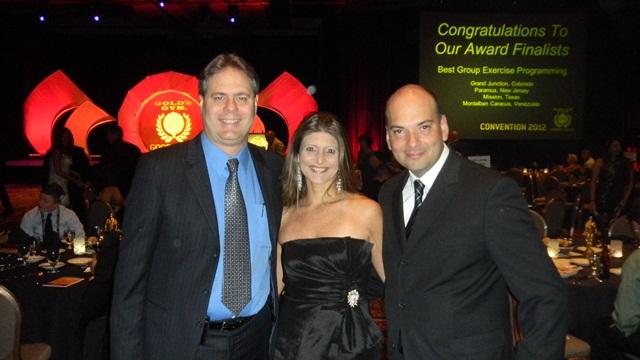 Angelo Chirico Gte General GGVZLA, Maria Suarez Coordinadora de Mercadeo, Arturo Gonzalez Gte de Comercializacion