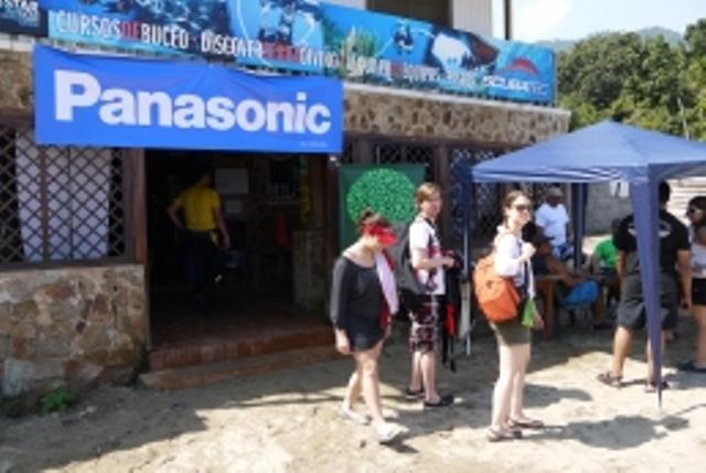 Panasonic en el dia mundial de las playas