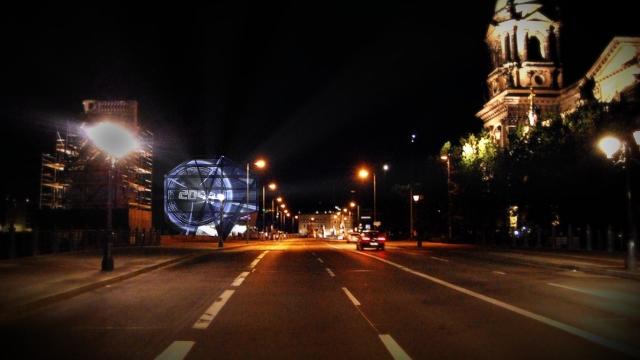 Teaser-Airbus Berlin Lightshow