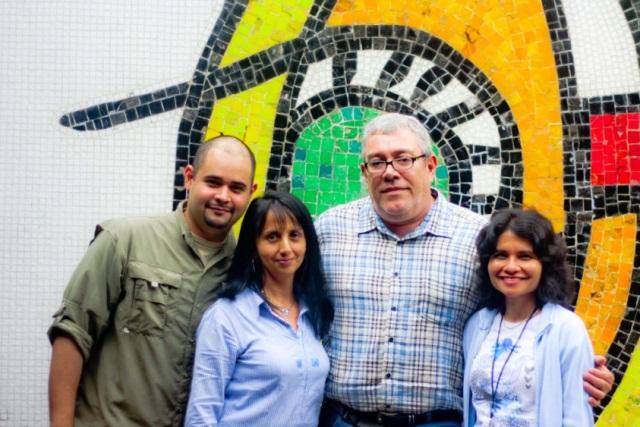 Integrantes del equipo de profesionales de la Dirección de Tecnología de Información y Comunicaciones de la Universidad Central de Venezuela