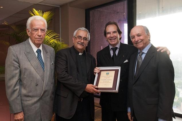 Fernando Chumaceiro, Francisco Virtuoso s.j., Víctor Vargas Irausquín y Alfredo Morles