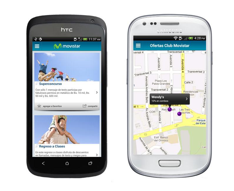 Movistar lanza aplicación para dispositivos móviles Android
