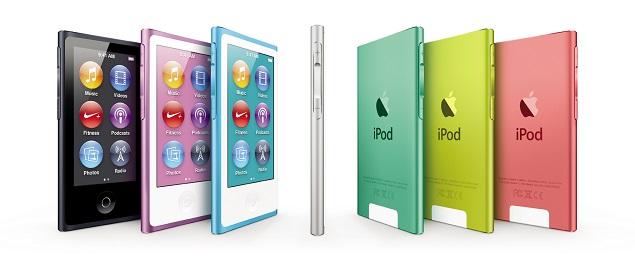 iPod nano AllColors