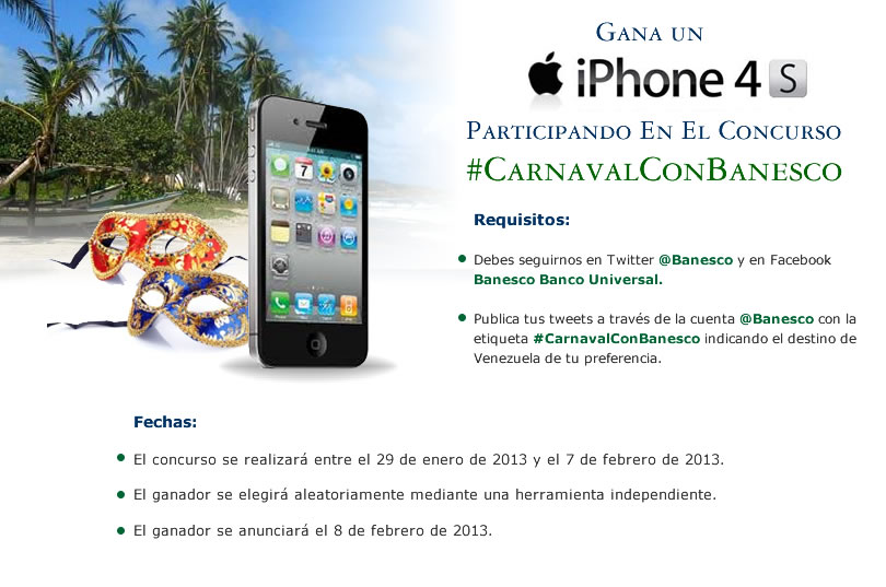 Iphone4S Banesco
