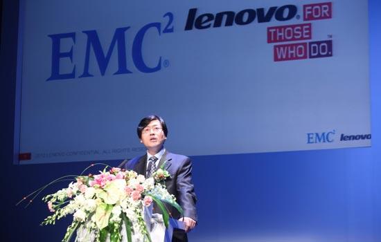 Lenovo y EMC