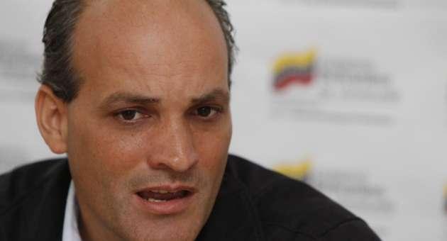 Ministro para el Área Económica y Productiva, Ricardo Menéndez