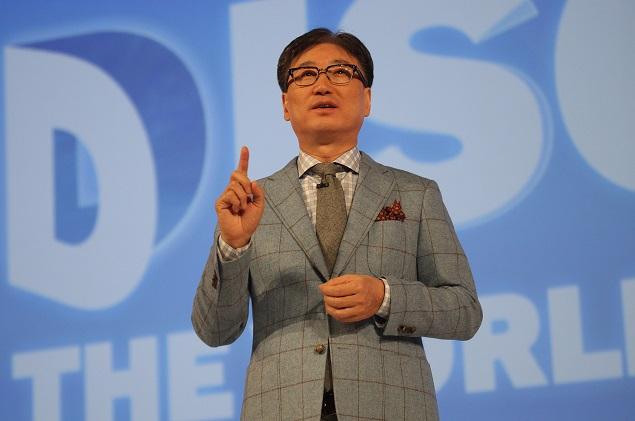 Samsung Press Conference BK Yoon