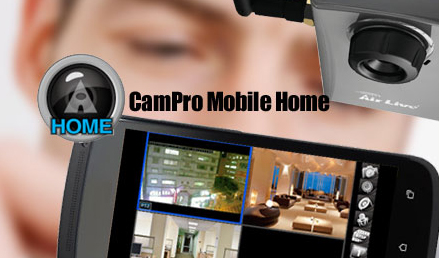 AirLive CamPro Mobile Home