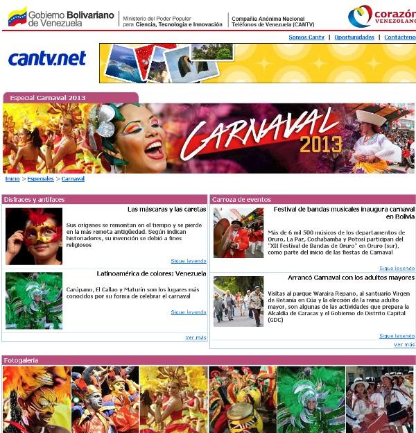 Cantvnet Carnavales