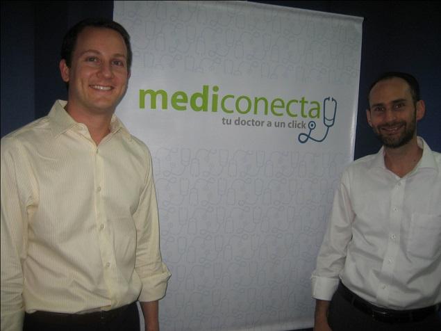 Daniel Silberman y Salomon Simkins, fundadores de MediConecta