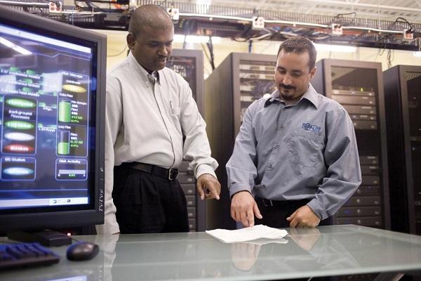 En el Centro de Datos