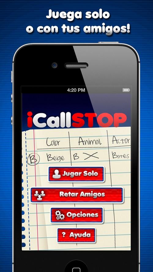 ICallSTOP - Aplicación