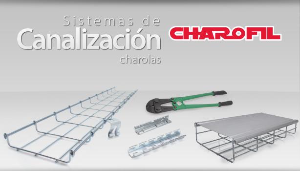Sistemas de Canalizaciones Charolas