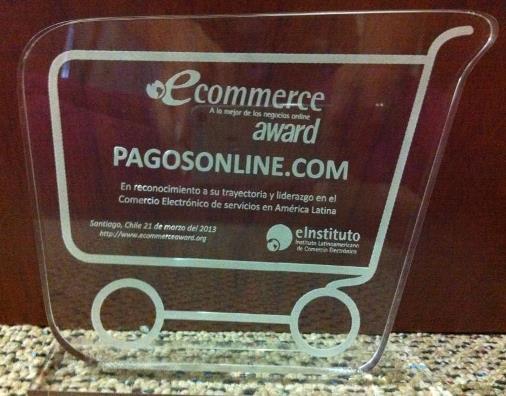 eCommerce Award PagosOnline