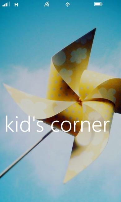 Kid´s corner