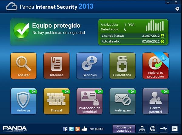 Panda Internet Secutity