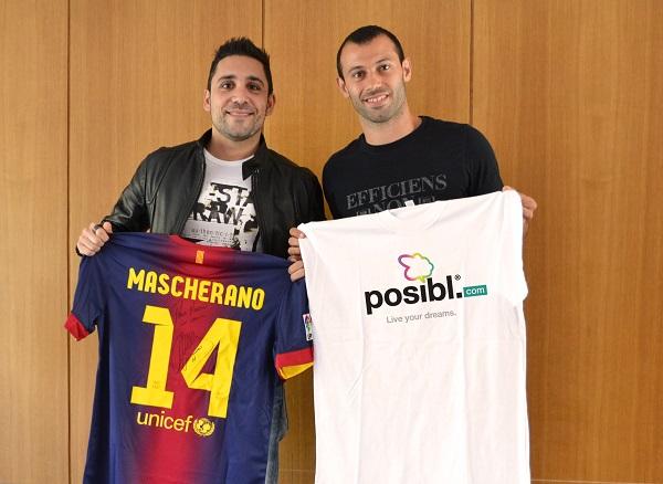 Posibl. - Martín Parlato (izq) y Javier Mascherano (der)