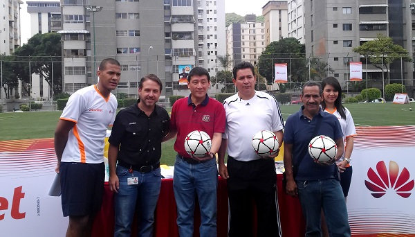 Huawei clinica futbol Salomon Rondon
