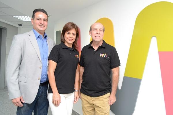 Voceros de la rueda de prensa Wayra-Microsoft Venezuela