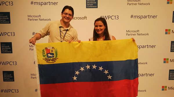 Harry Betancourt y Andreina Pirela