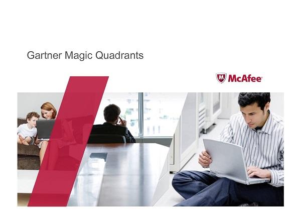 McAfee Gartner Magic Quadrants
