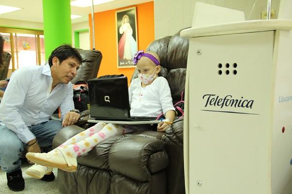 Visita Aula Fundación Telefonica Maracaibo