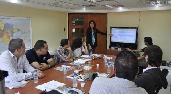 Reunion CNTI en Fundacite Carabobo