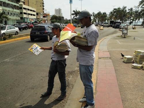 En Puerto La Cruz se distribuyeron 2.000 ejemplares