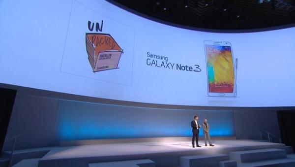 Samsung Galaxy Note 3 Unpacked-2013