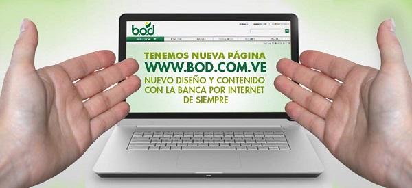bod nuevo sitio en internet