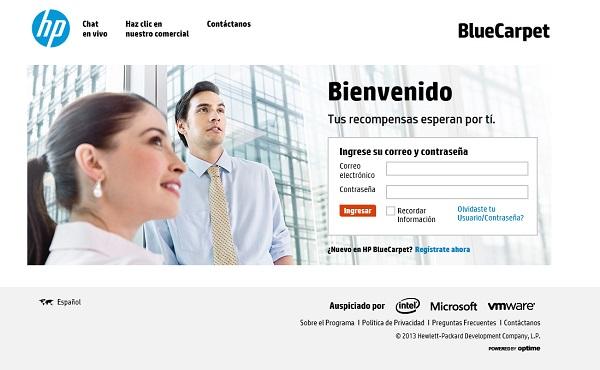 HP BlueCarpet