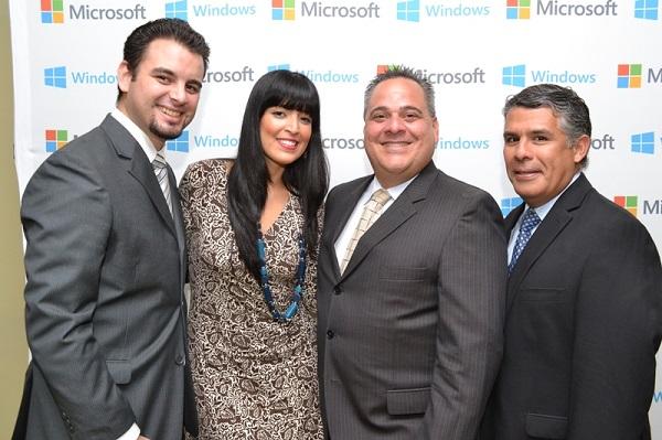 Aldo Hernandez, Magaly Palma, Alejandro Torres y Adel Meza