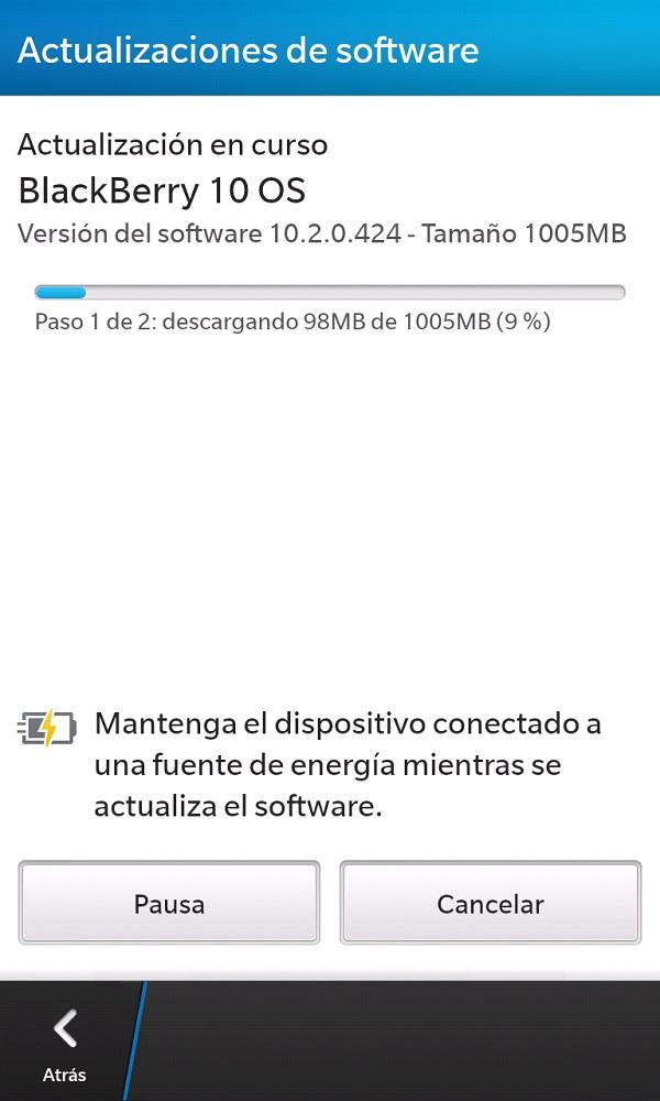 Descargando OS 10.2