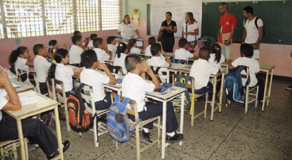 Integrantes de la mesa de Canaima Educativo visitaron la Escuela Básica Liceo Bolivariano José Ladislao Andara