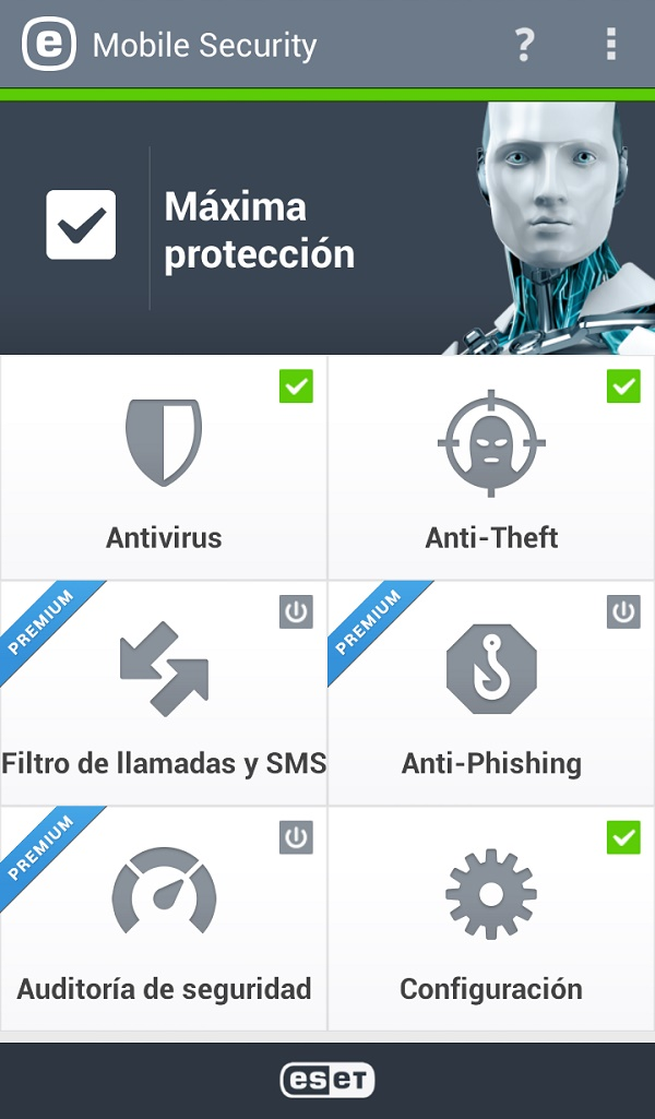 ESET Mobile Security 2013