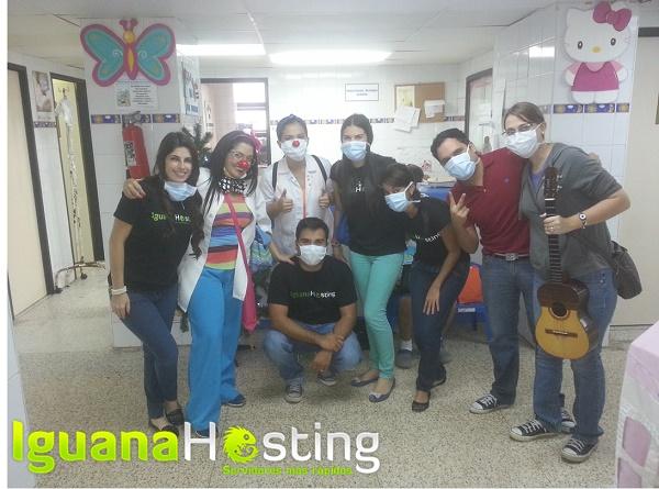 IguanaHosting regaló sonrisas a niños con cáncer