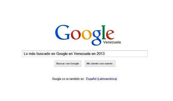 lo mas buscado venezuela google