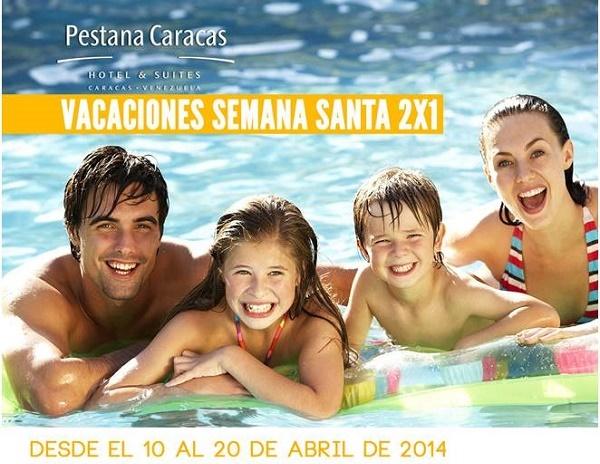 Pestana Caracas Semana Santa 2x1