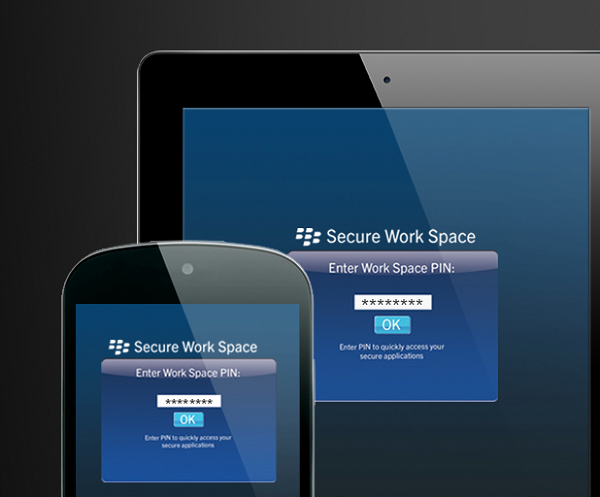 Secure Work Space - BES10