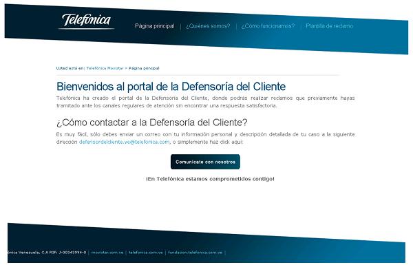Defensoría del Cliente - Telefonica