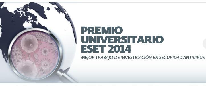 Premio Universitario ESET 2014