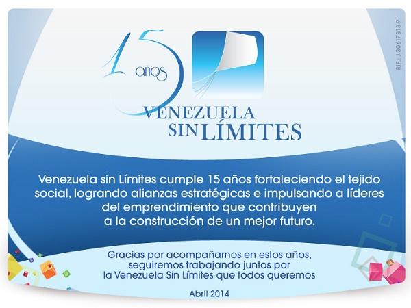 15 años de Venezuela Sin Limites