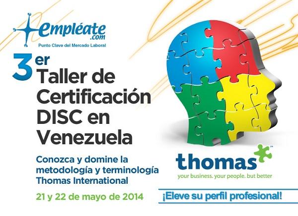 3ra Certificación Thomas International