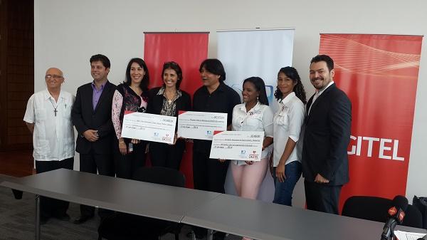 Digitel entrega recursos del Fondo de Conexión Social en la Región Gran Caracas