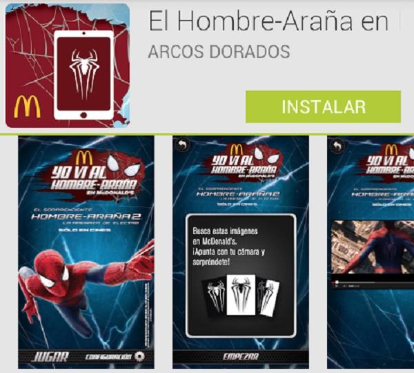 El Hombre Araña app